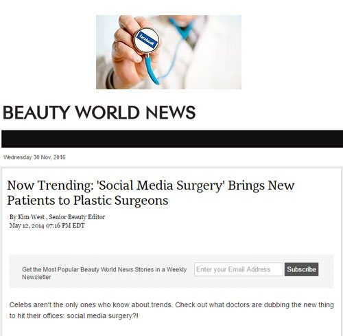 In The News: BeautyWorldNews.com