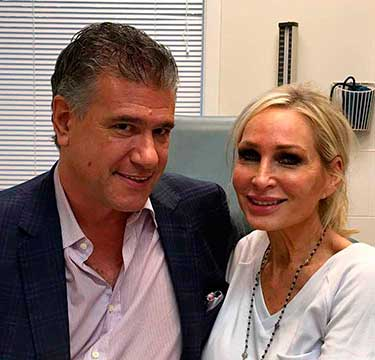 Kim D from Bravo's Real Housewives of New Jersey recently visited Dr. Milgrim for lip augmentation with Juvederm.
