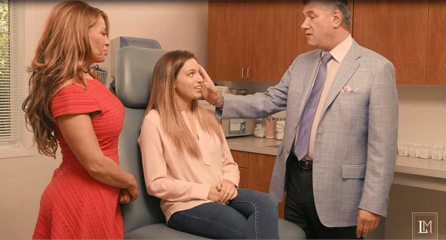 WATCH VIDEO - DOLORES FROM REAL HOUSEWIVES OF NJ (BRAVO TV) AT DR. MILGRIM'S OFFICE